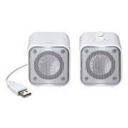 サンワサプライ USBスピーカー(ホワイト)