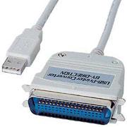 サンワサプライ USBプリンタコンバータケーブル(1.8m)